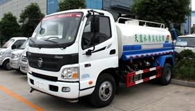 福田欧马可5吨洒水车上市了