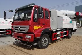 重汽8吨喷雾降尘车