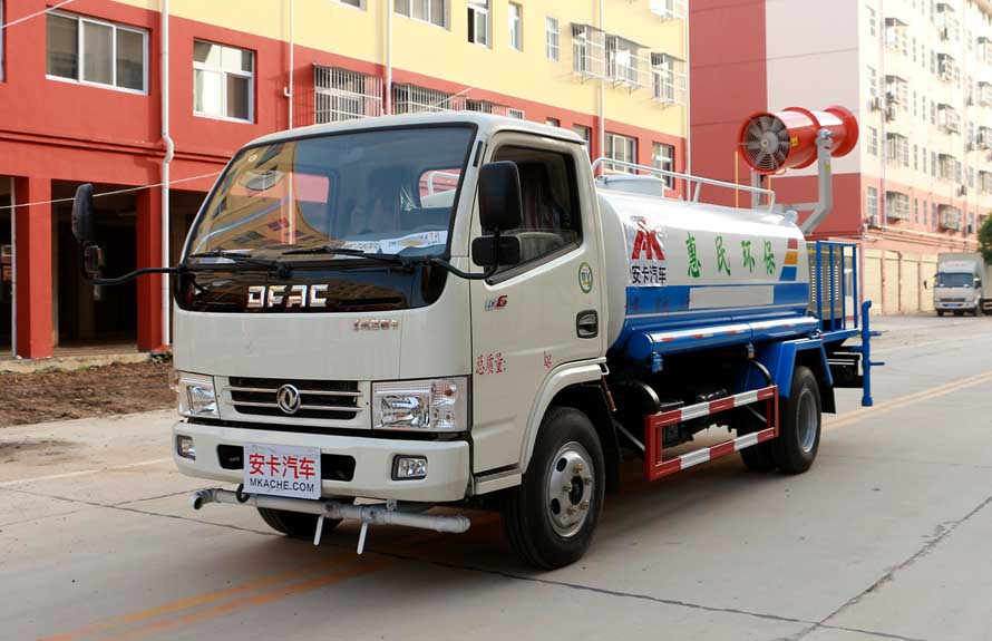 东风5吨抑尘车整车图片A