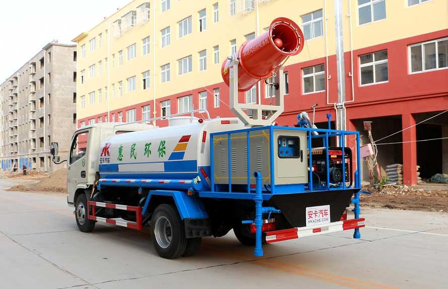 东风5吨抑尘车整车图片C