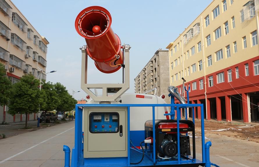 东风5吨抑尘车上装图片B