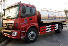国五欧曼鲜奶运输车