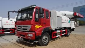 重汽斯太尔抑尘雾炮车产品特点及适用范围