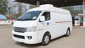 福田G7面包冷藏车促销,现车直降0.3万!