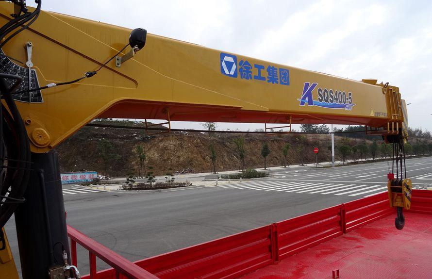 陕汽16吨随车吊5节直臂吊机