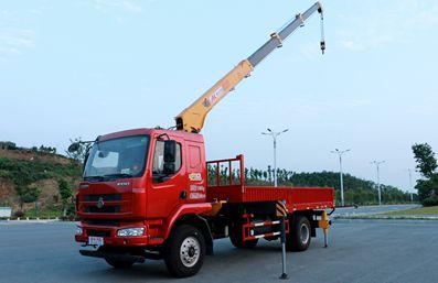 徐工6.3吨随车吊吊机起重参数