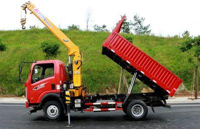 徐工3.2吨随车吊吊机起重参数