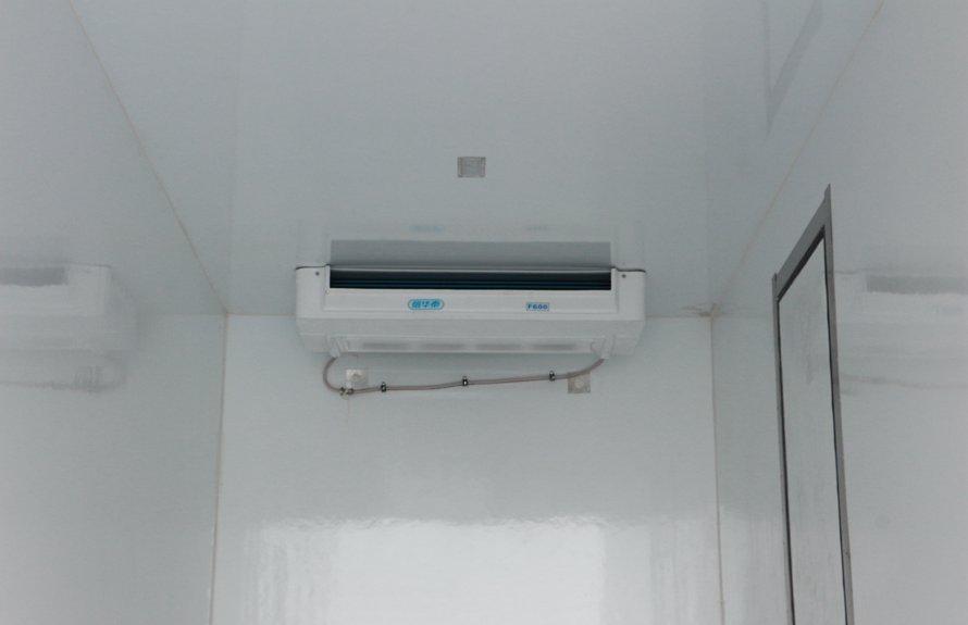 东风多利卡5.1米冷藏车蒸发器图片