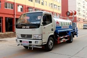 东风5吨洒水喷雾车