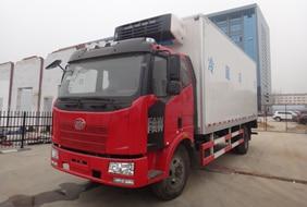 解放J6-6.8/7.5米冷藏车