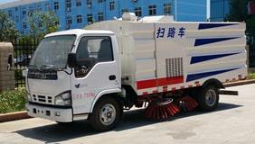 五十铃3吨扫路车图片_详细参数_价格