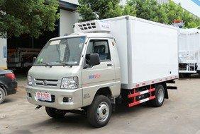 福田2.9米小型冷藏车