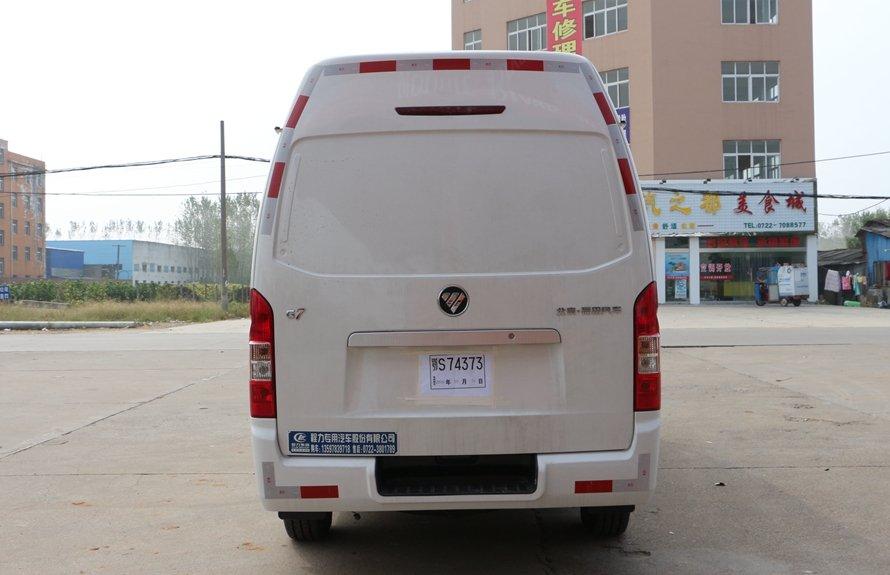福田G7冷藏车正后图片