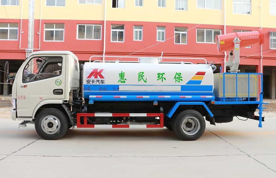 东风5吨雾炮车正侧图片