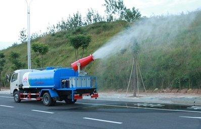 东风多利卡8吨雾炮车实拍图片B