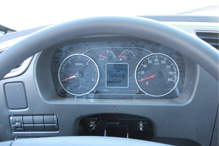 福田欧马可S5冷藏车仪表盘图片