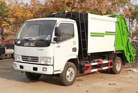 东风3吨压缩垃圾车